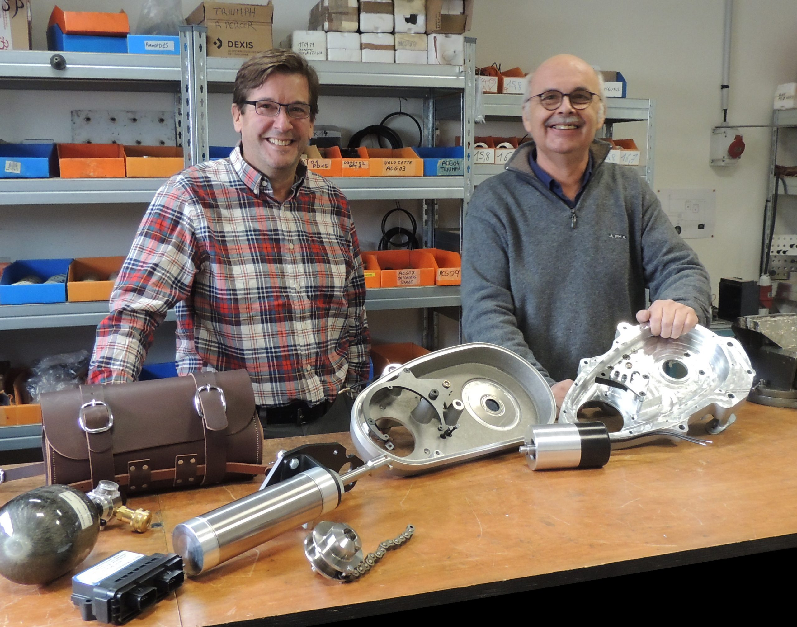 KickMagic your one stop shop for Triumph, Norton and Velocette bolt-on starters